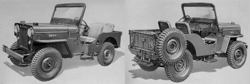 1953-64 WILLYS CJ3B