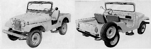 1955-69 WILLYS CJ5 (CJ5E)